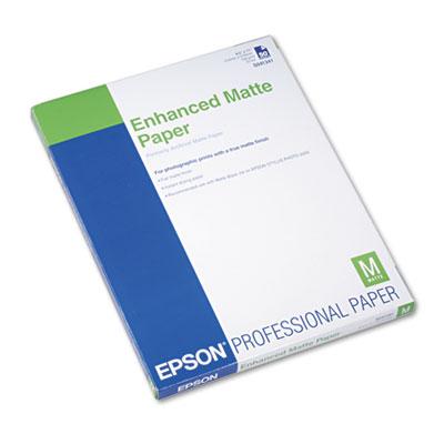 Epson Ultra Premium Matte Presentation Paper, 10 mil, 8.5 x 11, Matte White, 50/Pack (S041341)