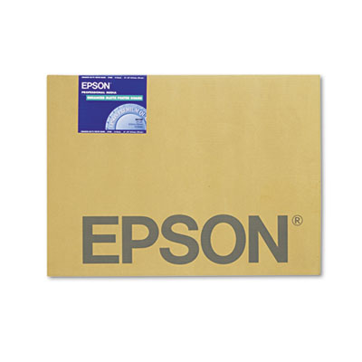 Epson Enhanced Matte Posterboard, 30 x 24, White, 10/Pack (S041598)