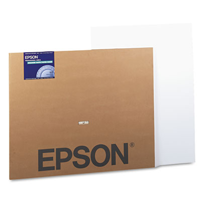 Epson Matte Wide Format Inkjet Poster Board, Enhanced, 30 x 40, 5/Pack (S041599)