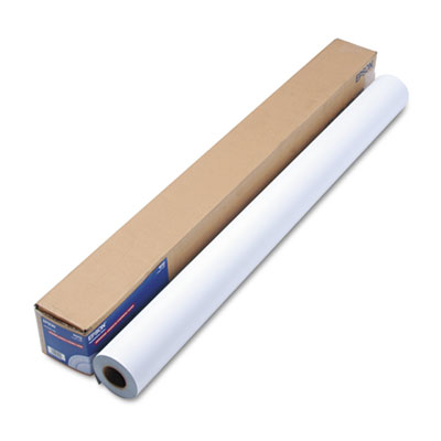"""Epson Enhanced Adhesive Synthetic Paper, 44"""" x 100 ft, White (S041619)"""