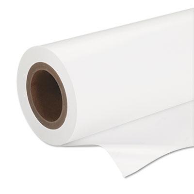 """Epson Premium Semigloss Photo Paper Roll, 7 mil, 16.5"""" x 100 ft, Semi-Gloss White (S042075)"""