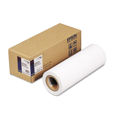 "Epson Premium Luster Photo Paper, 3"" Core, 10 mil, 16"" x 100 ft, Premium Luster White (S042079)"