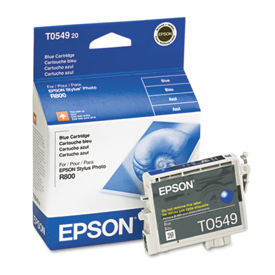Epson T054920 (54) Ink, 400 Page-Yield, Blue