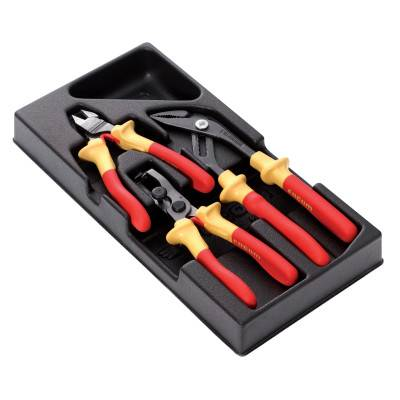 Stanley Facom 3 Pc. Insulated Plier Sets (FW-MOD.VE)