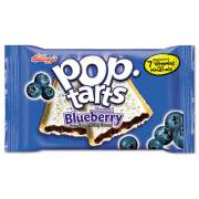 Kellogg's Pop Tarts, Frosted Blueberry, 2/Pack, 6 Packs/Box (31032)