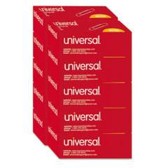 Universal Paper Clips, Jumbo, Silver, 100 Clips/Box, 10 Boxes/Pack (72220)