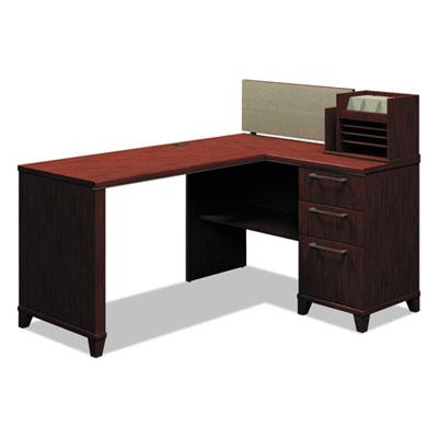 Bush Enterprise Collection Corner Desk, 60w x 47.25d x 41.75h, Harvest Cherry (Box 1 of 2) (2999ACSA1-03)
