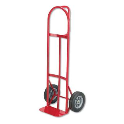 Safco Two-Wheel Steel Hand Truck, 500 lb Capacity, 18w x 47h, Red (4084R)