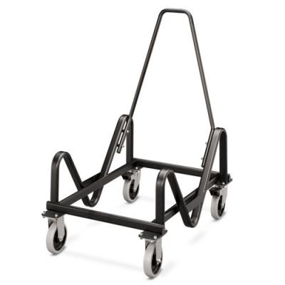 HON Olson Stacker Series Cart, 21.38w x 35.5d x 37h, Black (H4043.T)