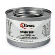 Sterno Handy Fuel Methanol Gel Chafing Fuel, 6.7 oz, Two-Hour Burn, 72/Carton (20660)