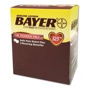 Bayer Aspirin Tablets, Two-Pack, 50 Packs/Box (BXBG50)