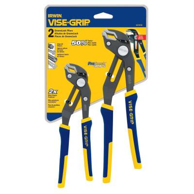 Stanley Irwin Vise-Grip 2-pc GrooveLock Pliers Sets (2078709)