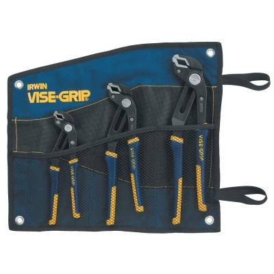 Stanley Irwin Vise-Grip 3-pc GrooveLock Pliers Sets (2078711)