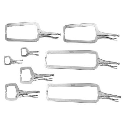 Stanley Irwin Vise-Grip The Original Locking Clamp Sets (8107ZR)