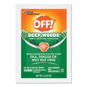 OFF! Deep Woods Towelettes, 12/Box, 12 Boxes per Carton (611072)