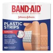 BAND-AID Plastic Adhesive Bandages, 3/4 x 3, 60/Box (100563500)