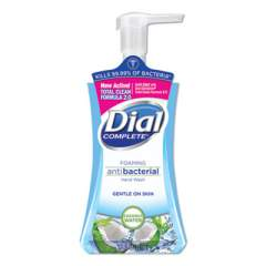 Dial Antibacterial Foaming Hand Wash, Coconut Waters, 7.5 oz Pump Bottle (09316)
