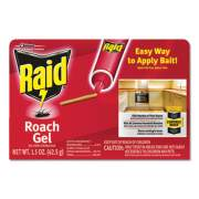 Raid Roach Gel, 1.5 oz Box, 8/Carton (697332)