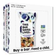 This Bar Saves Lives Snackbars, Wild Blueberry and Pistachio, 1.4 oz, 12/Box (00445BX)