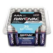 Rayovac Alkaline AAA Batteries, 36/Pack (82436PPK)