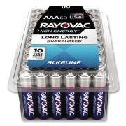 Rayovac Alkaline AAA Batteries, 60/Pack (82460PPK)