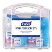 "PURELL Body Fluid Spill Kit, 4.5"" x 11.88"" x 11.5"", One Clamshell Case with 2 Kits/Carton (3841-01-CLMS)"