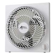"Alera 9"" 3-Speed Desktop Box Fan, Plastic, White (FANBX10B)"