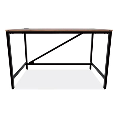 Alera Industrial Series Table Desk, 47.25w x 23.63d x 29.5h, Modern Walnut (ID-4824B)