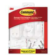 Command General Purpose Hooks, Variety Pack, Assorted Sizes, 54 Pieces/Pack (17231ES)