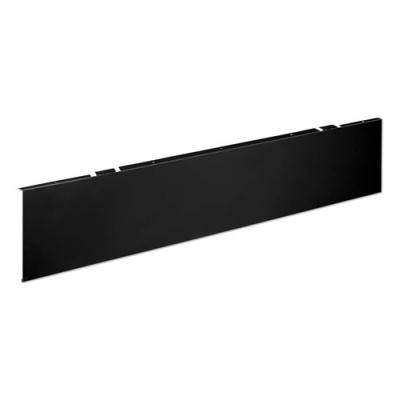 HON Universal Modesty Panel, 38w x 0.13d x 9.63h, Black (MTUMOD38P)