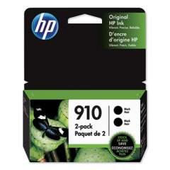 HP 910 2-pack Black Original Ink Cartridges (3JB40AN)