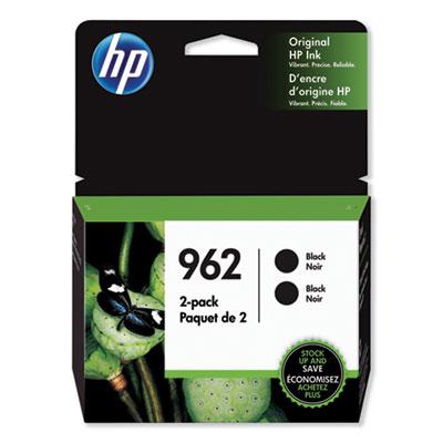 HP 962 2-pack Black Original Ink Cartridges (3JB33AN#140)