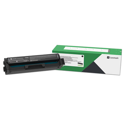 Lexmark C331HK0 Return Program High-Yield Toner Cartridge, 3000 Page-Yield, Black