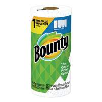 Bounty Select-a-Size Kitchen Roll Paper Towels, 2-Ply, White, 5.9 x 11, 74 Sheets/Roll (65517RL)