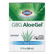 Clorox Healthcare GBG AloeGel Instant Hand Sanitizer, 27 oz Bottle, 12/Carton (32376)
