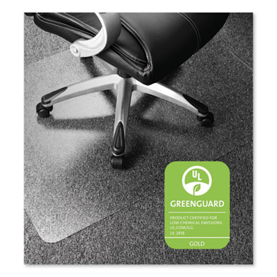 Floortex Cleartex Ultimat Polycarbonate Chair Mat for Low/Medium Pile Carpet, 48 x 60, Clear (ER1115223ER)