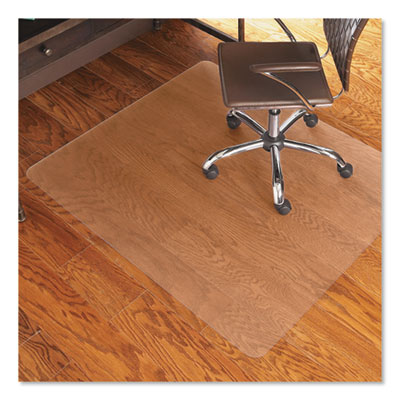 ES Robbins Economy Series Chair Mat for Hard Floors, 46 x 60, Clear (131826)
