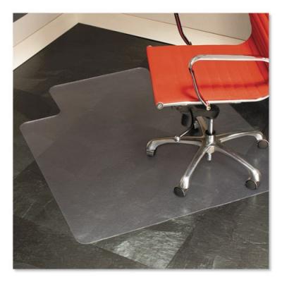 ES Robbins Multi-Task Series Chair Mat for Hard Floors, Heavier Use, 45 x 53, Clear (132123)