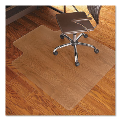 ES Robbins Economy Series Chair Mat for Hard Floors, 45 x 53, Clear (131823)
