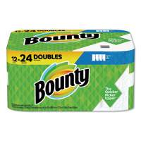 Bounty Select-a-Size Paper Towels, 2-Ply, White, 5.9 x 11, 98 Sheets/Roll, 12 Rolls/Carton (66541)