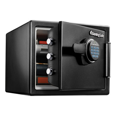 Sentry Safe Fire-Safe with Digital Keypad Access, 2 cu ft, 18.67w x 19.38d x 23.88h, Black (SFW205EVB)