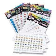 Teacher Created Resources Mini Stickers Variety Pack, Six Assorted Designs, 3,168 Stickers (826720)