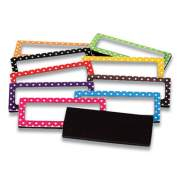 """Teacher Created Resources MAGNETIC LABEL SET, POLKA DOTS, 2.5"""" X 1"""", 30/PACK (1609951)"""