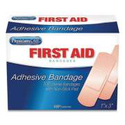 "First Aid Only Adhesive Plastic Bandages, 1"" x 3"", 100/Box (819387)"