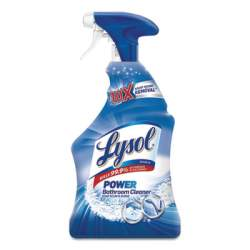 Lysol Bathroom Cleaning Products - Shower - Toilet - Floors