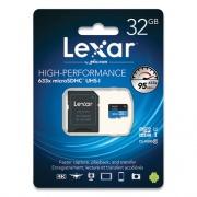 Lexar MICROSDHC MEMORY CARD WITH SD ADAPTER, UHS-I U1 CLASS 10, 32 GB (24359322)