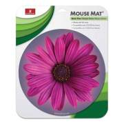 Handstands Round Flower Mouse Mat, 9 x 11 x 0.17, Multicolor (926737)