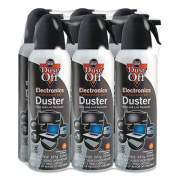 Dust-Off Disposable Compressed Gas Duster, 7 oz Can, 6/Pack (356652)