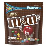 M & M's Milk Chocolate Candies, Milk Chocolate, 38 oz Bag (55114)