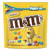 M & M's Milk Chocolate Candies, Milk Chocolate and Peanuts, 38 oz Bag (55116)